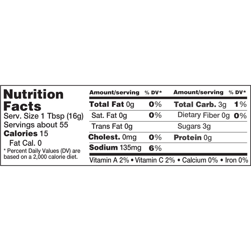 Heinz Sweetened with Honey Reduced Sugar Tomato Ketchup, 31 oz Bottle