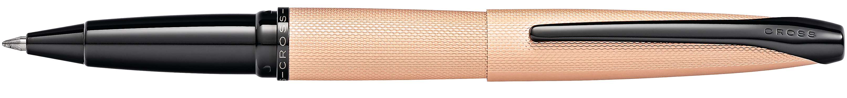 ATX Brushed Rose Gold Rollerball Pen