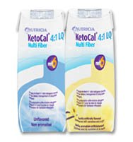 KetoCal 4:1 Tube Feeding Formula Unflavored 8 oz. Carton Ready to Use, 80183 - EACH