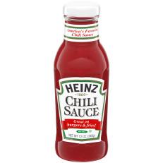 Heinz Chili Sauce 12 oz Bottle image