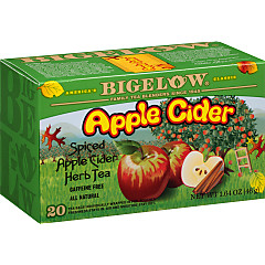 Apple Cider Herbal Tea - Case of 6 boxes- total of 120 tea bags