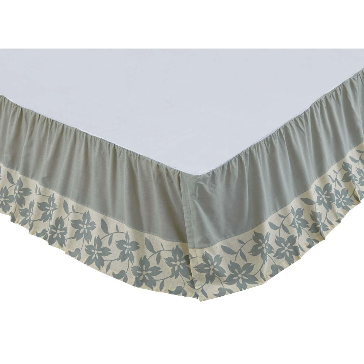 Briar Sage Queen Bed Skirt 60x80x16