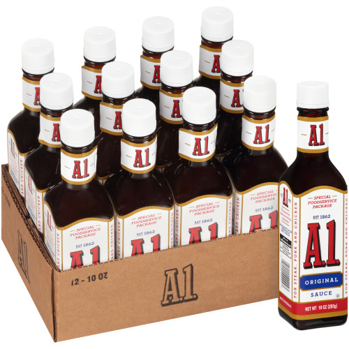 A.1. Steak Sauce, 10 oz. Bottles (Pack of 12)