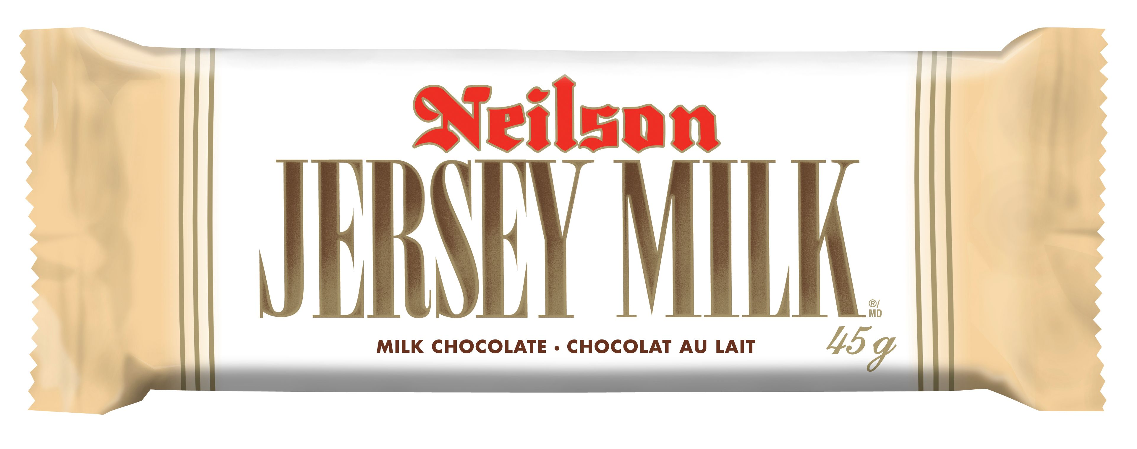 Jersey Milk Chocolate Bar 45 G
