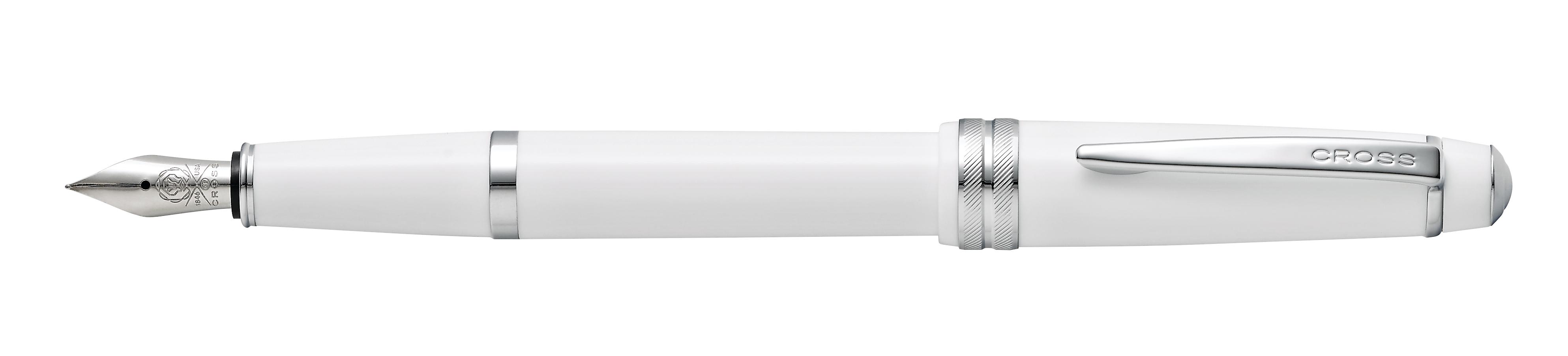 Cross Bailey Light Polished White Resin Fountain Pen