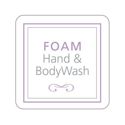 Dispenser Label - Foam Hand & Body Wash