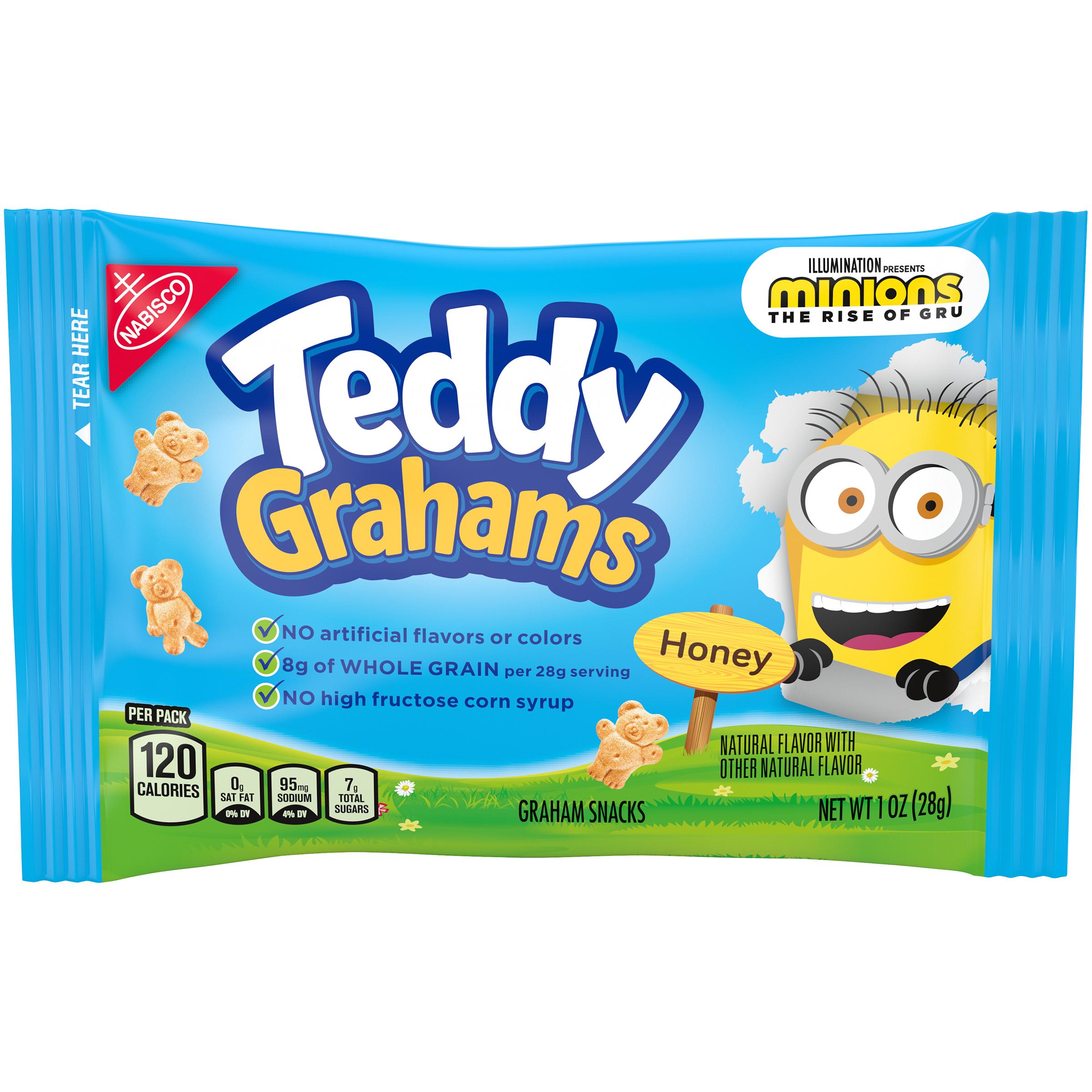 TEDDY GRAHAMS Cookies Biscuit 1 oz