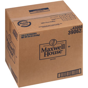 Maxwell House Ground Coffee - Decaf, 2 oz. image
