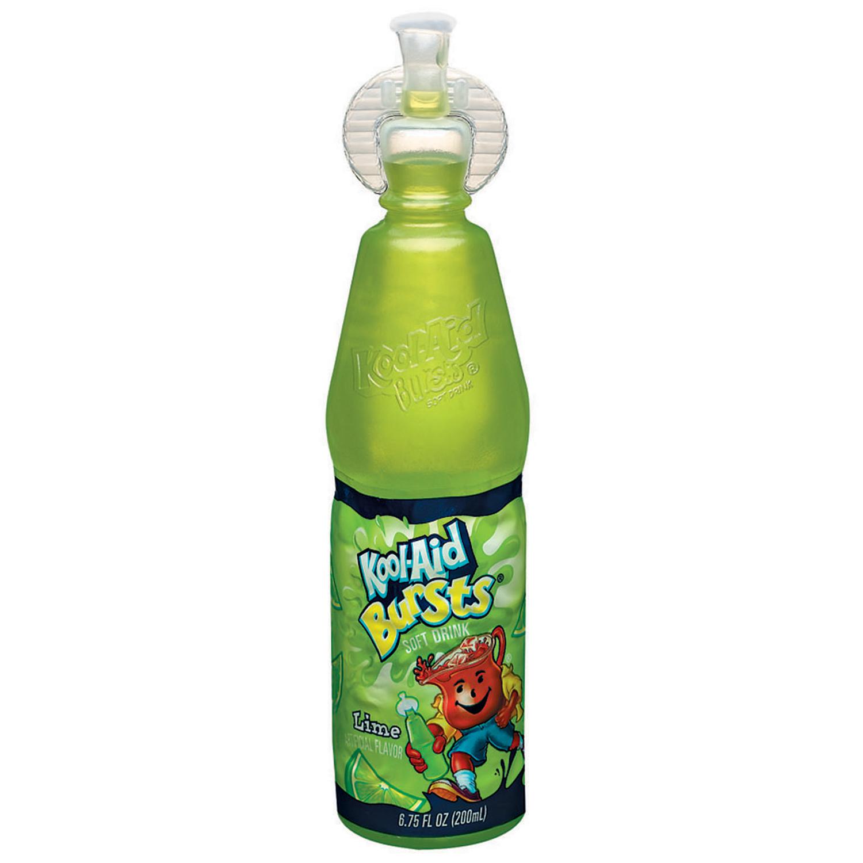 Kool-Aid Bursts Kiwi Lime Soft Drink - 6.75 fl oz Bottle image
