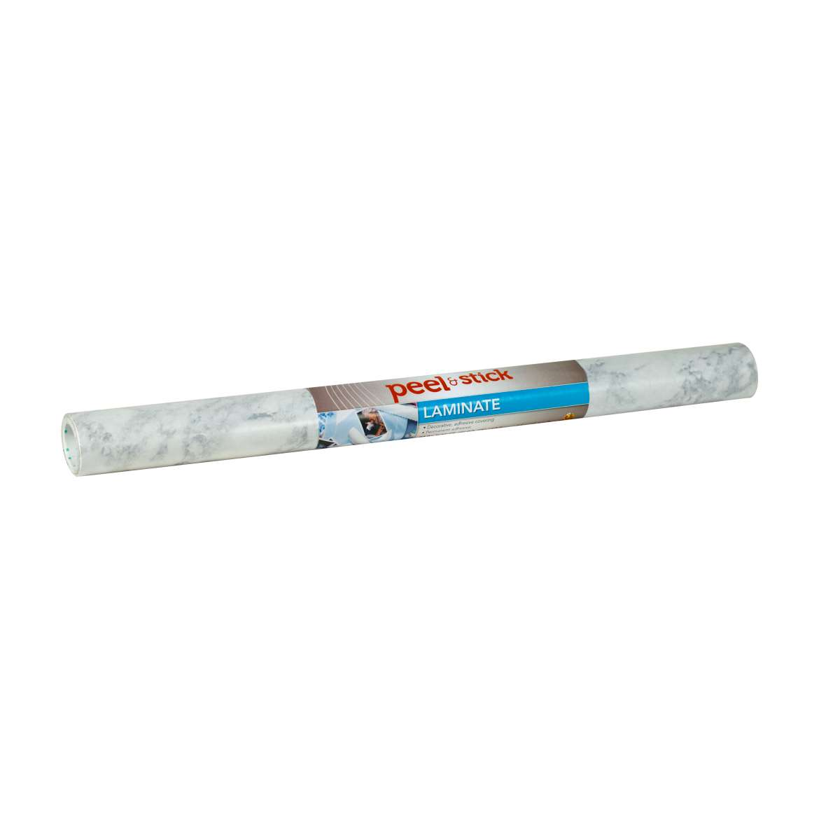 Duck® Brand Peel & Stick Adhesive Laminate - White Marble, 20 in. x 15 ft. Image