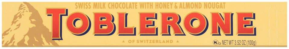 Toblerone Milk Chocolate Chocolate Bar 100 G