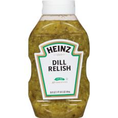 Heinz Dill Relish, 9 - 26 fl oz Bottles image