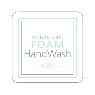 Dispenser Label - Antibacterial Foam Handwash