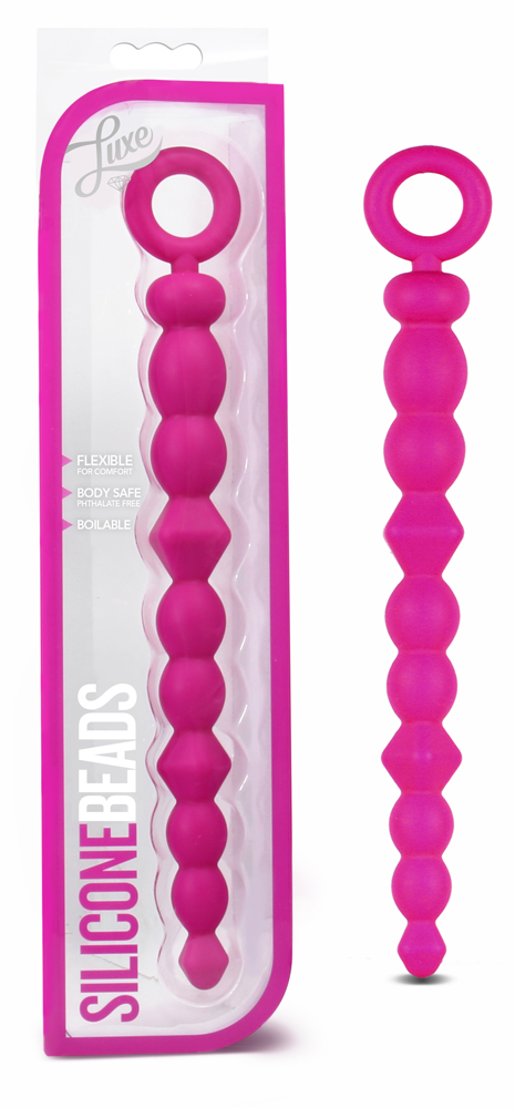 Luxe - Silicone Beads - Pink