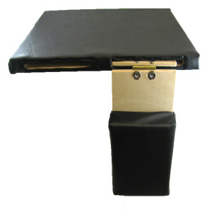 Combo Hinged Flip-Down & Slide-Out Support Amputee Board, 18 Inch x 16 Inch,