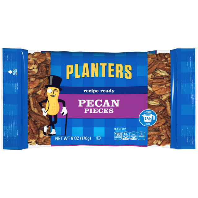 PLANTERS Pieces Pecan 6oz Bag