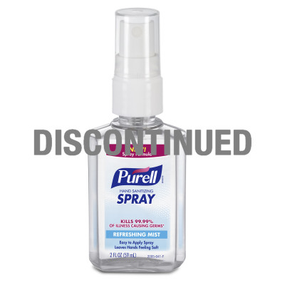 PURELL® Hand Sanitizing Spray - DISCONTINUED