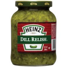 Heinz Dill Relish, 10 fl oz Jar image