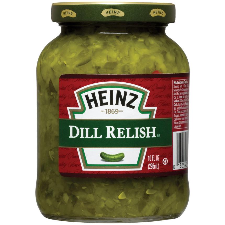 Heinz Dill Relish 10 fl oz Jar