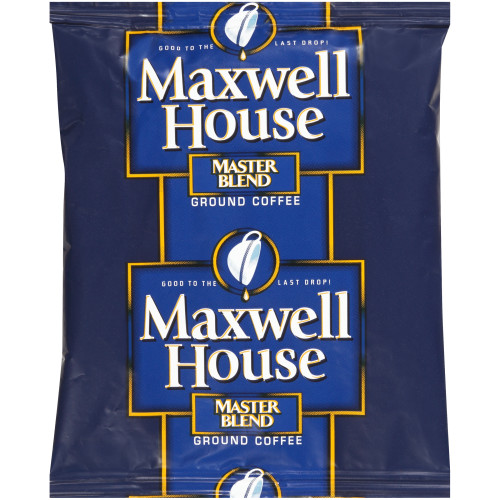 MAXWELL HOUSE Master Blend Coffee, 1.1 oz. Single Serve Bags (Pack of 42)