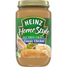 Heinz Classic Chicken Fat-Free Gravy, 12 oz Jar image