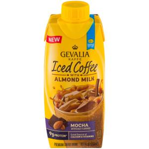 Gevalia Iced Coffee with Almond Milk - Mocha, 11.1 oz. image