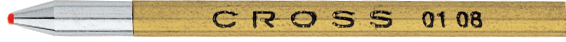 Matrix Ballpoint Pen Refill - Red - Three per Card