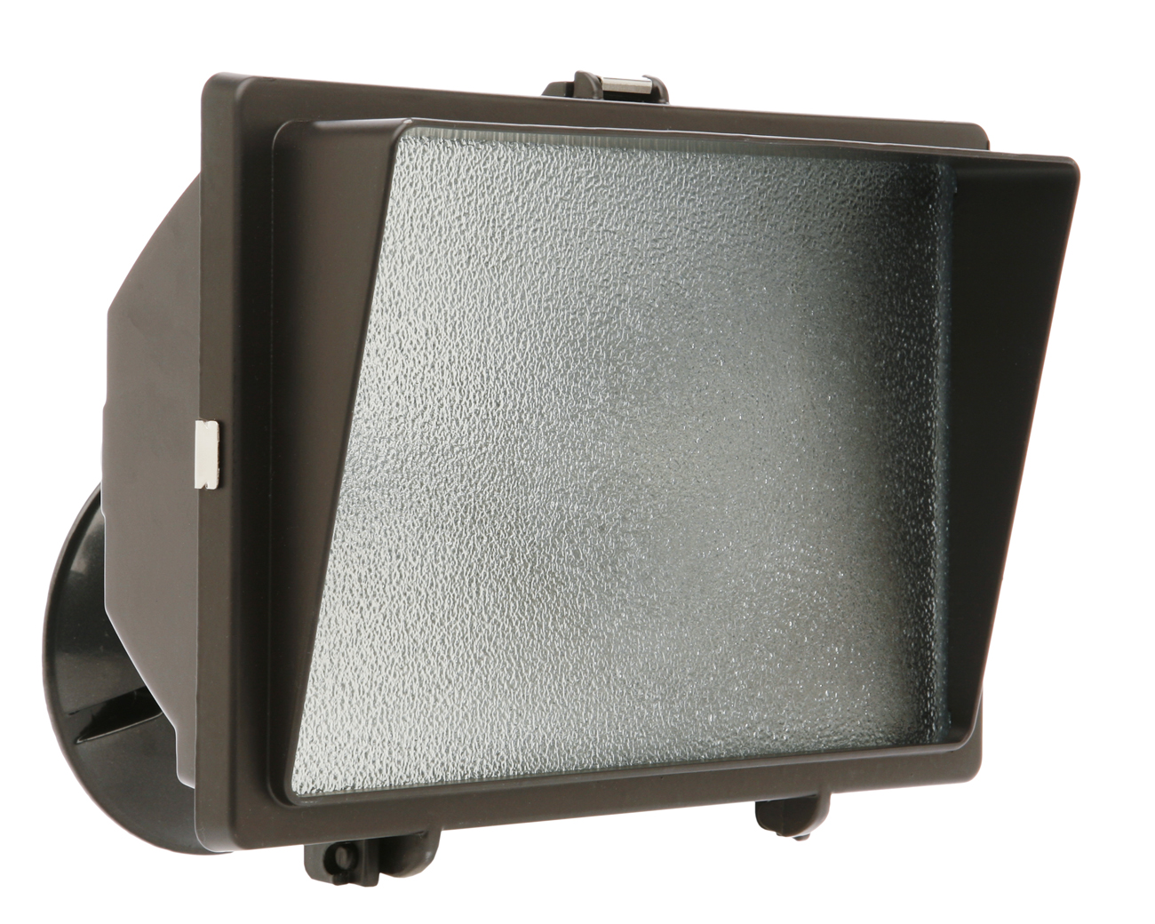 LT, SECURITY 500W HALOGEN W/ EYEBROW BR