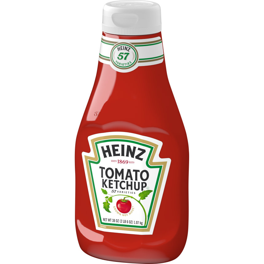 Heinz Tomato Ketchup 38 oz. Bottle