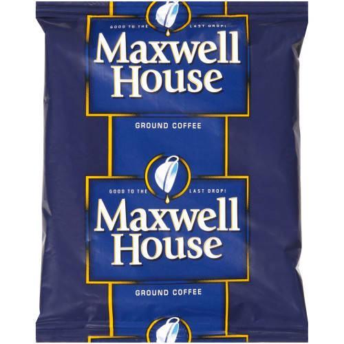 MAXWELL HOUSE Roast & Ground Coffee, 1.5 oz. Packets (Pack of 42)