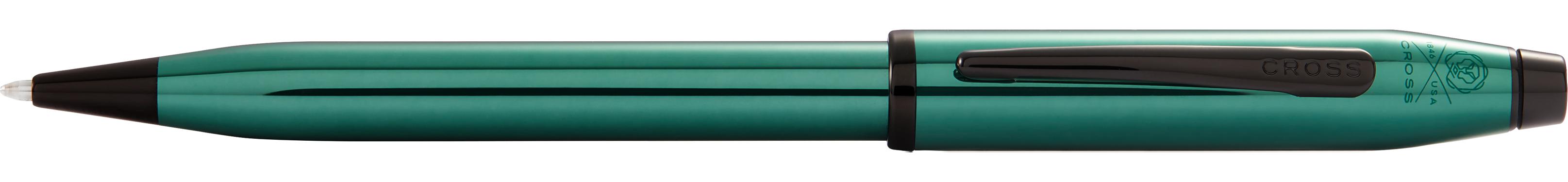 Century II Translucent Green Lacquer Ballpoint Pen