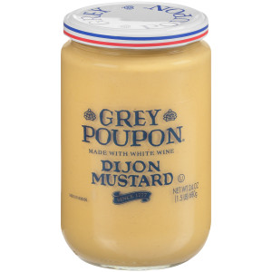 GREY POUPON Dijon Mustard, 24 oz. Jars (Pack of 6) image