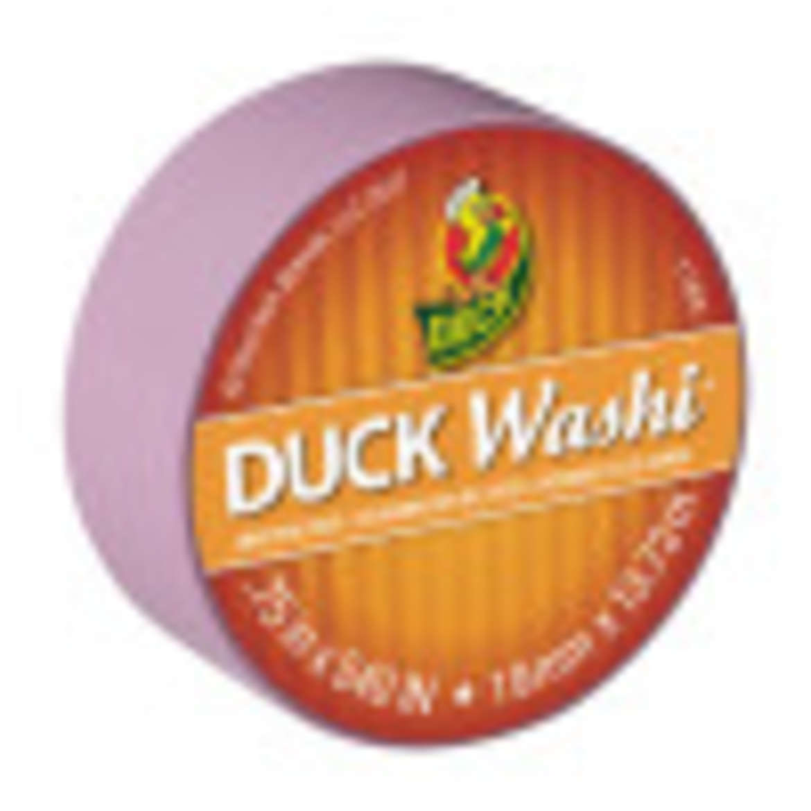 Duck Washi® Crafting Tape - Purple, 0.75 in. X 15 yd. Image