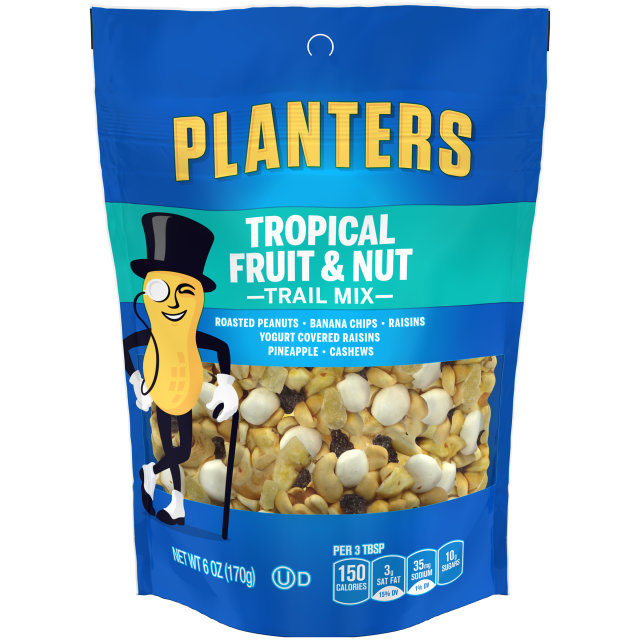 PLANTERS Trail Mix Fruit & Nut  6 oz Bag image