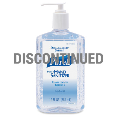 PURELL® Instant Hand Sanitizer with DERMAGLYCERIN SYSTEM™ - DISCONTINUED