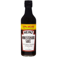 Heinz  Worcestershire Sauce 12 Oz Glass Bottle image