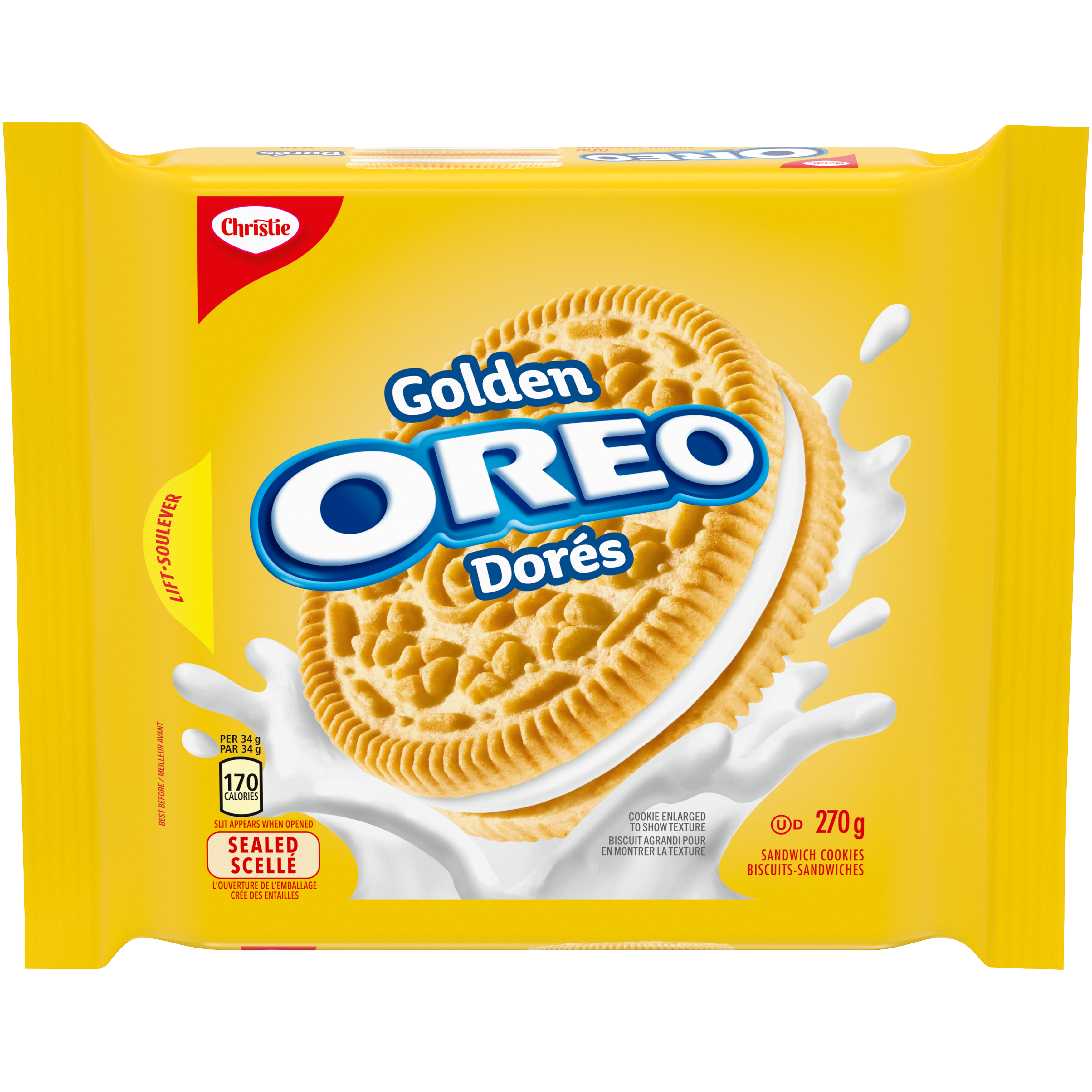Oreo Doré Biscuits 270 G