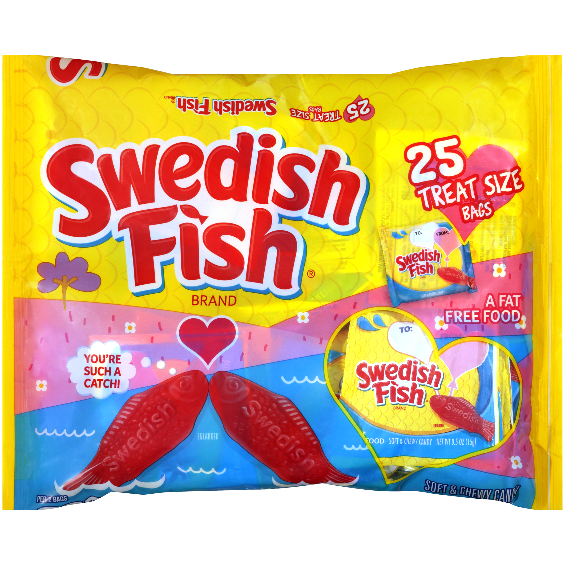 SWEDISH FISH Berry Soft Candy 13.2 oz