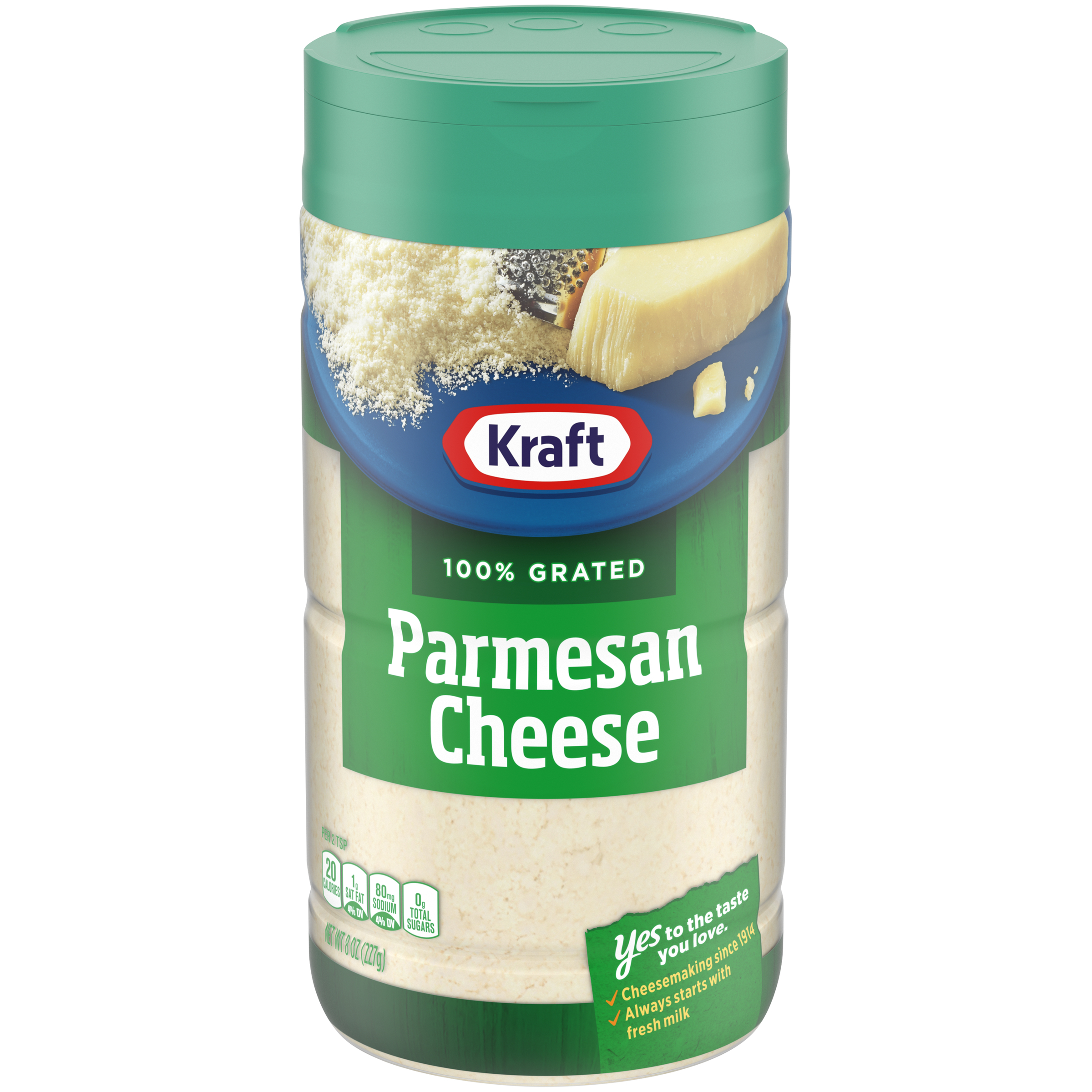 kraft 100  grated parmesan cheese shaker 8 oz bottle