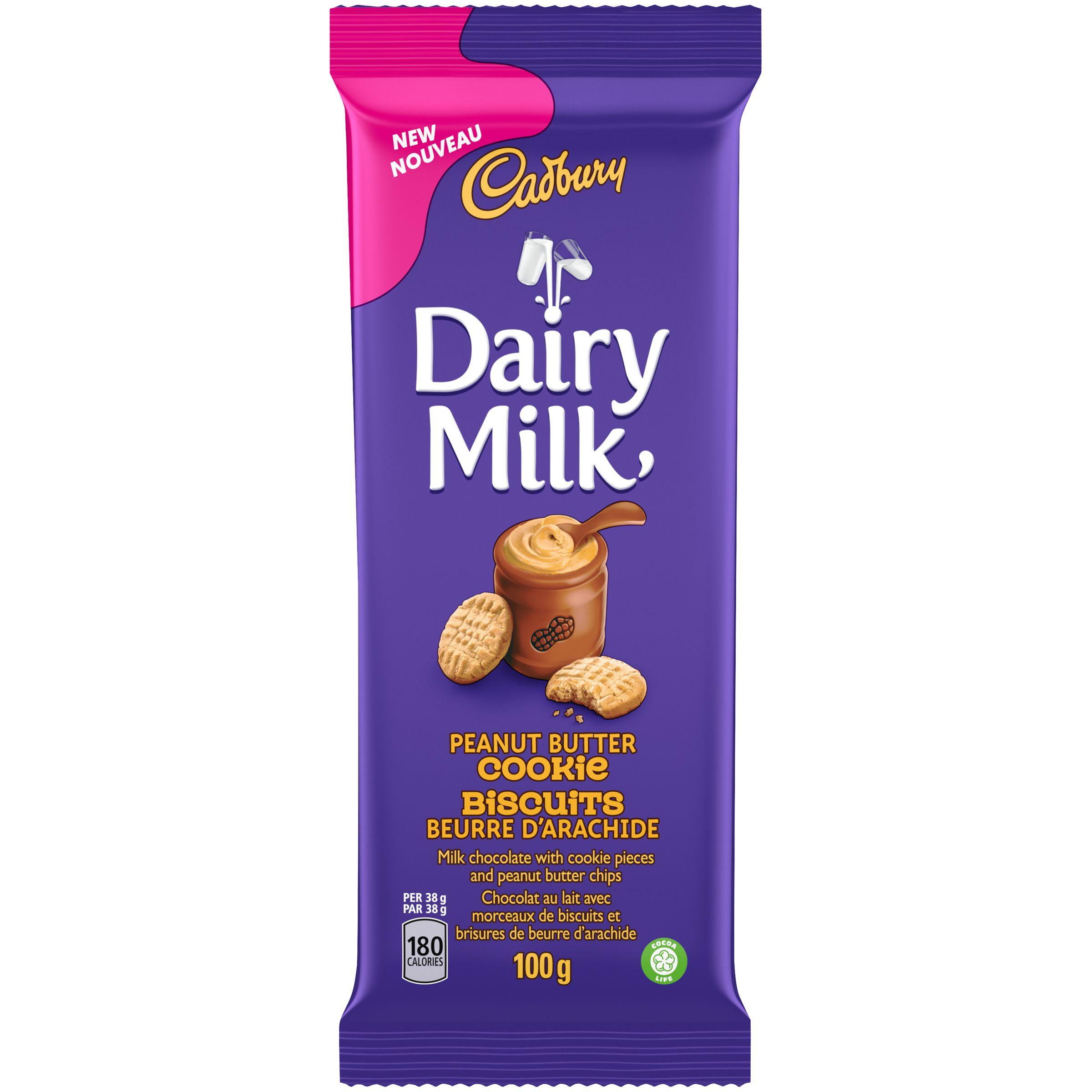 Cadbury Dairy Milk Peanut Butter Chocolate Bar 100 G