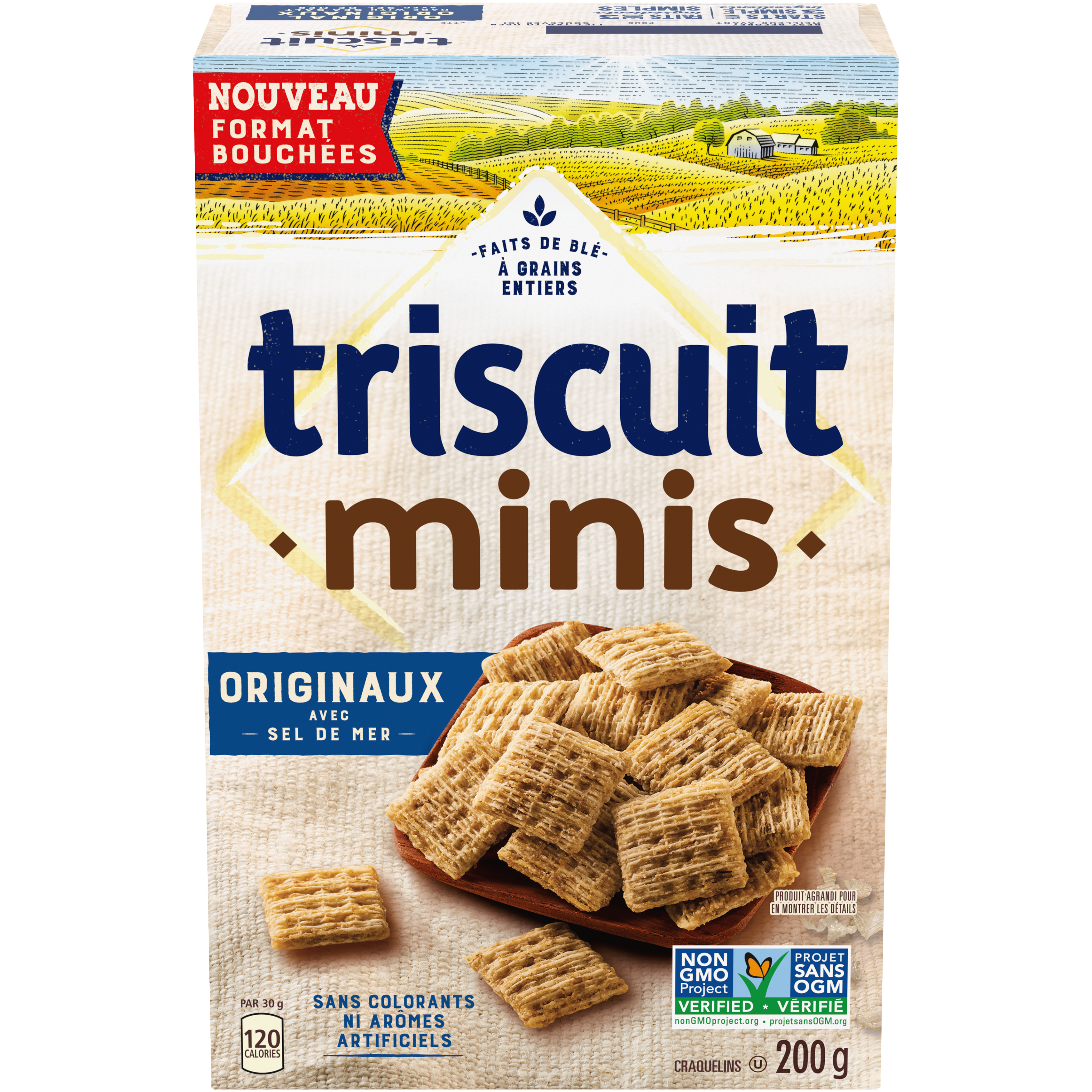 Triscuit Minis Original Crackers-Mini 200 G