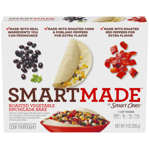 SmartMade Roasted Vegetable Enchilada Bake, 9 oz. image