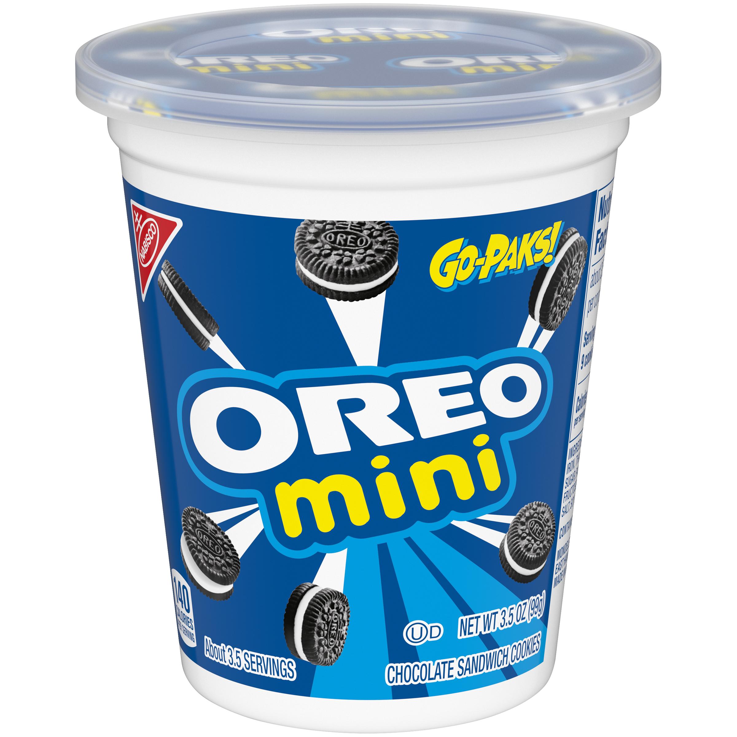 OREO Mini Go-Paks Cookies - Mini 3.5 oz