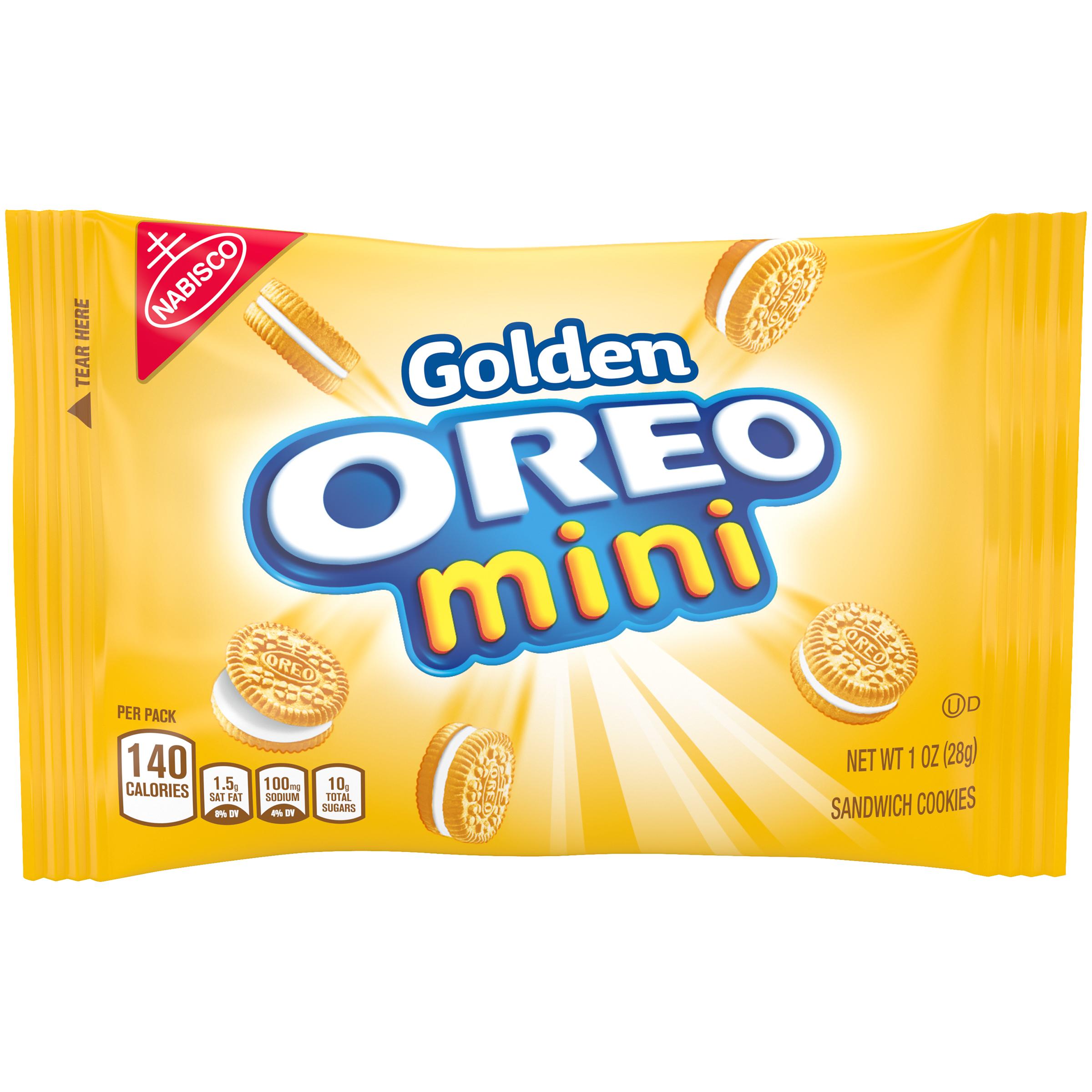 OREO Golden Oreo Cookies - Mini 1 oz