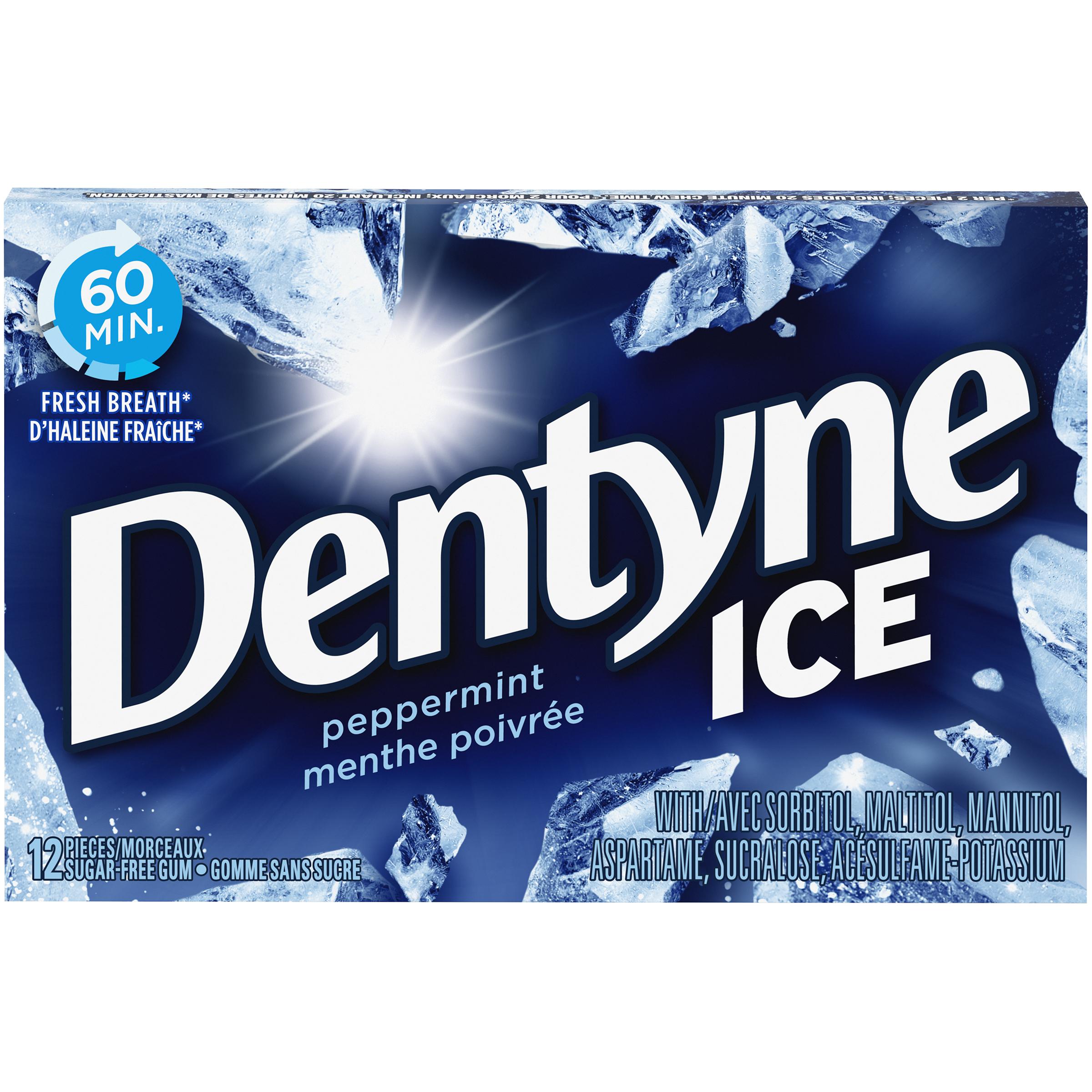 DENTYNE ICE MENTHE 12MCX