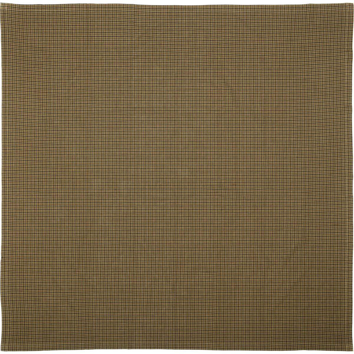 Tea Cabin Green Plaid Table Cloth 60x60