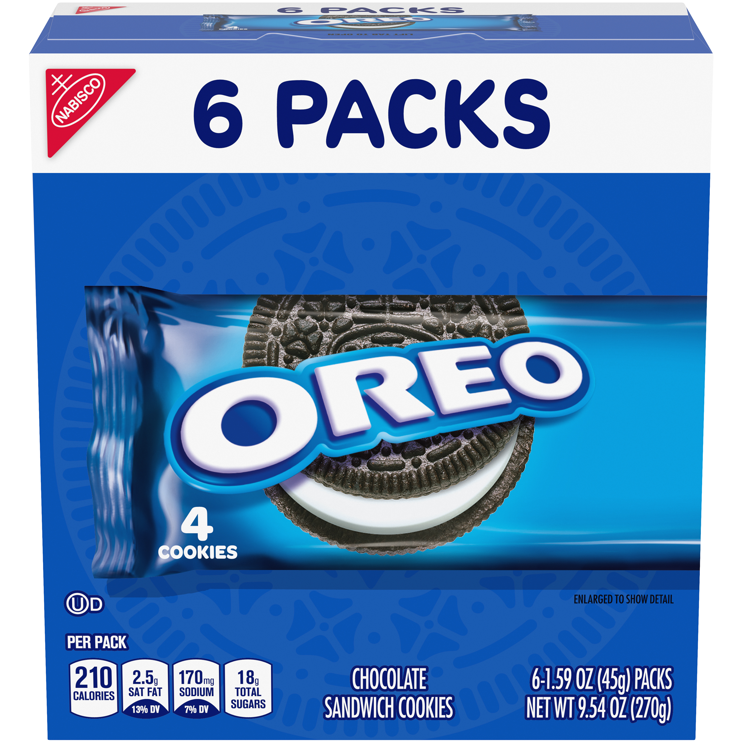 OREO Chocolate Cookies-Single Serve 9.56 Oz