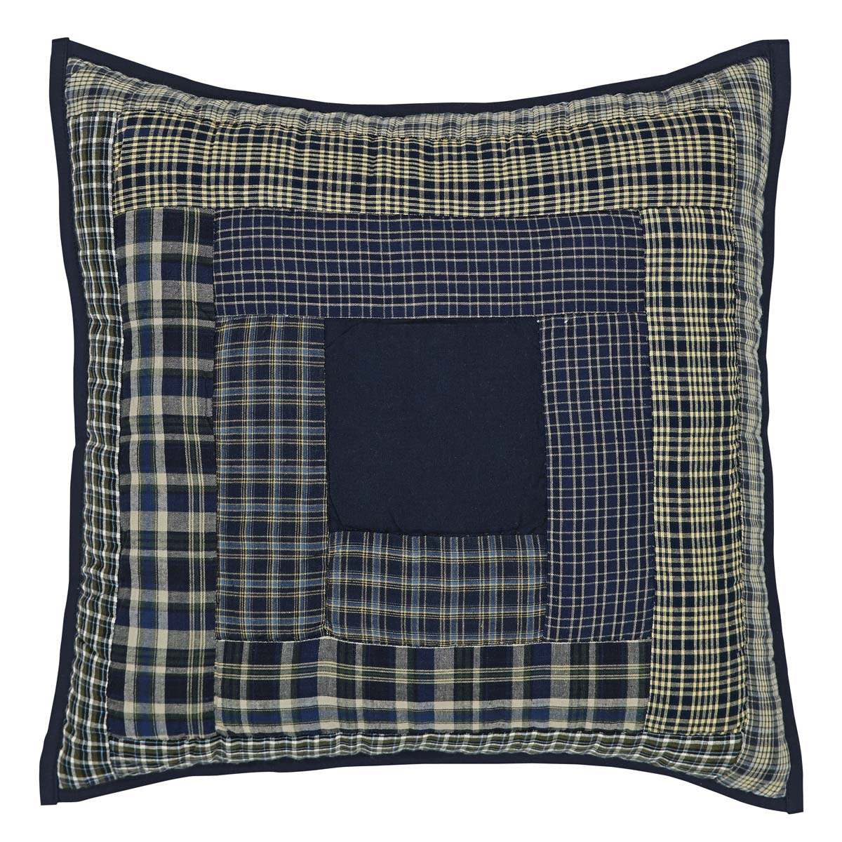 Columbus Quilted Pillow 16x16