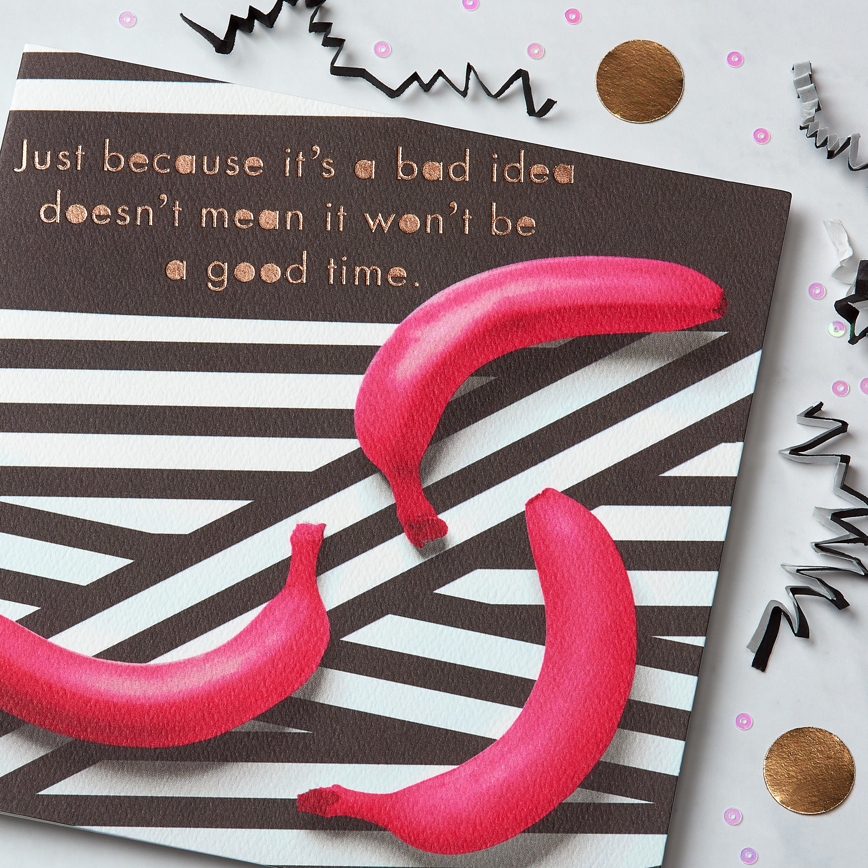 Bad Idea Greeting Card - Birthday, Friendship image