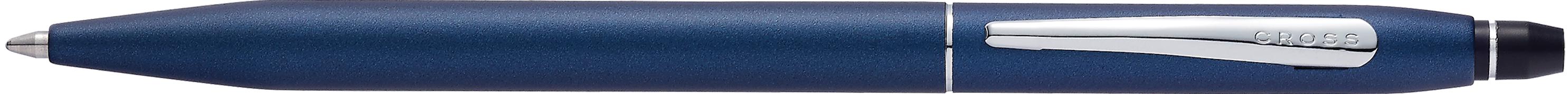 Click Blue Lacquer Ballpoint Pen